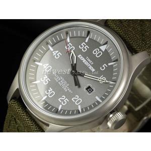 TIMEX タイメックス 腕時計 Expedition Military Field エクスペディションミリタリーフィールド T49875 ライトグレー×カーキ 正規品 newest