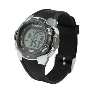 正規品 TIME PIECE タイム ピース スポーツウォッチ TPW-004BK ブラック 腕時計 ユニセックス 送料無料|newest