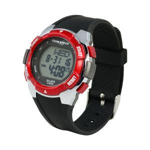 正規品 TIME PIECE タイム ピース スポーツウォッチ TPW-004RD ブラック 腕時計 ユニセックス 送料無料|newest