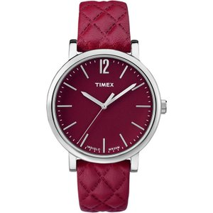 TIMEX タイメックス MATELASSE マトラッセ TW2P71200 レッド 腕時計 ユニセックス 送料無料|newest