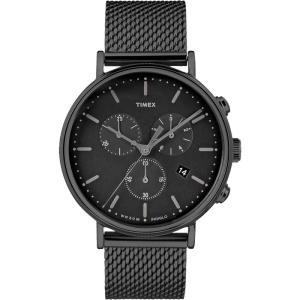 TIMEX タイメックス Fairfield フェアフィールド TW2R27300 ブラック 腕時計 ユニセックス 即納|newest