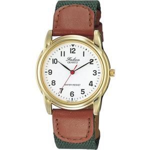 正規品 CITIZEN シチズン Q&Q FALCON ファルコン V266-804 ホワイト×カーキ×ブラウン ユニセックス 腕時計 メール便に限り送料無料 即納|newest