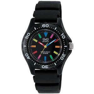 CITIZEN シチズン Q&Q スポーツウオッチ VR25-001 ブラック レディース 腕時計 即納|newest