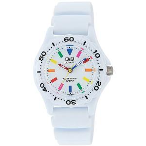 CITIZEN シチズン Q&Q スポーツウオッチ VR25-002 ホワイト レディース 腕時計 即納|newest