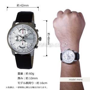 ORIENT オリエント WORLD STAGE Collection ワールドステージコレクション WV0081TT シルバー×ブラウン メンズ 腕時計|newest|02