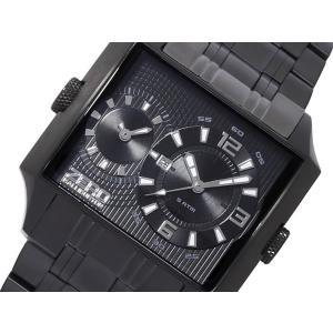 ZERO HALLIBURTON ゼロハリバートン ZW004B-02 ブラック 腕時計 メンズ