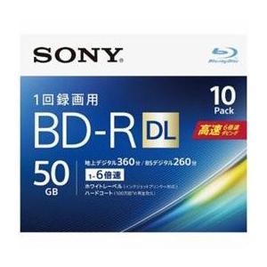 ☆ソニー 10BNR2VJPS6 ビデオ用ブルーレイディスク 1-6倍速 50GB 10枚|newfrontier