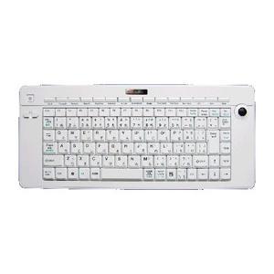☆アオテック 2.4Ghzトラックパッドワイヤレスキーボード ホワイト 24G-AOK89W|newfrontier