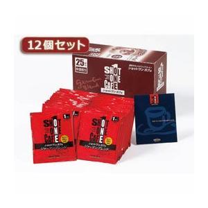 ☆タカノコーヒー ショットワンカフェ ジャーマンブレンド12個セット AZB0523X12|newfrontier