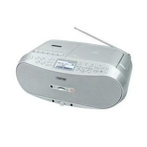 ☆ソニー CDラジオカセットコーダー (シルバー) CFD-RS501-C|newfrontier