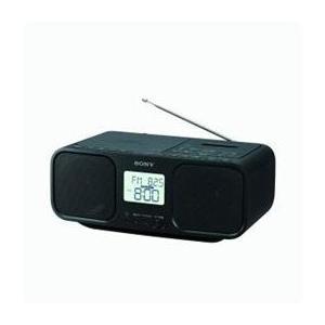 <欠品中>☆ソニー CFD-S401-BC ワイドFM対応 CDラジオカセットレコーダー ブラック|newfrontier