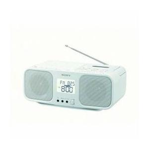 <欠品中>☆ソニー CFD-S401-WC ワイドFM対応 CDラジオカセットレコーダー ホワイト|newfrontier