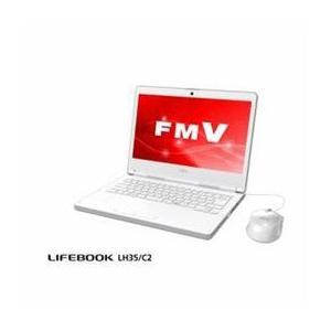 ☆富士通 モバイルパソコン FMV LIFEBOOK LH35/C2 アーバンホワイト FMVL35C2W|newfrontier