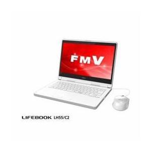 ☆富士通 モバイルパソコン FMV LIFEBOOK LH55/C2 アーバンホワイト FMVL55C2W|newfrontier