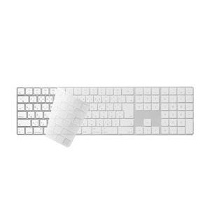 キーボードの汚れを防ぎ清潔に使う、Apple Magic Keyboard (テンキー付き) (JI...