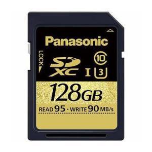 ☆Panasonic 128GB Class3(Class10)対応SDXC UHS-Iメモリーカード RP-SDUC128JK RP-SDUC128JK newfrontier