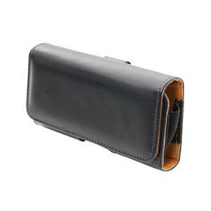 ☆ミヨシ ガラケー携帯用ケース スムースレザー調  SAC-GC01/BK|newfrontier
