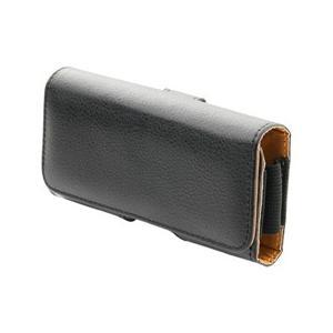 ☆ミヨシ ガラケー携帯用ケース スムースレザー調  SAC-GC02/BK|newfrontier