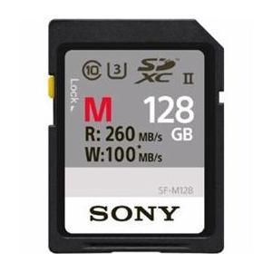 <欠品中>☆ソニー SDXCメモリーカード 128GB Class10 UHS-II SF-M128 newfrontier