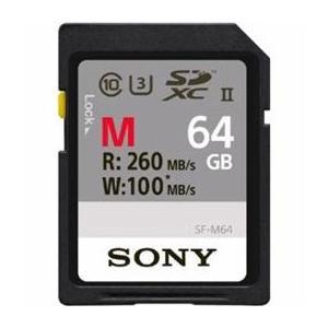 ☆ソニー SDXCメモリーカード 64GB Class10 UHS-II SF-M64 newfrontier
