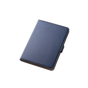 ☆エレコム iPad mini 4/フラップカバー/ソフトレザー/360度回転/ブルー TB-A17S360BU newfrontier