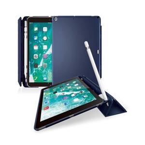☆エレコム 9.7インチ iPad 2018年モデル&2017年モデル/ハードフラップカバー/スリープ対応/ブルー TB-A18RPVFBU newfrontier