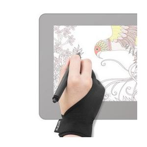 ☆エレコム 液晶ペンタブレット用グローブ/Mサイズ TB-GV1M