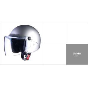 LEAD リード工業 apiss AP-603 セミジェットヘルメット シルバー|newfrontier