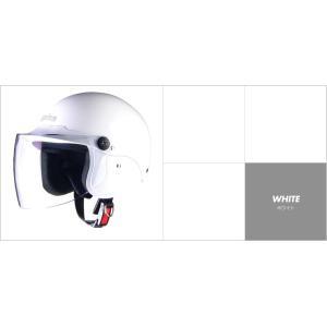 LEAD リード工業 apiss AP-603 セミジェットヘルメット ホワイト|newfrontier