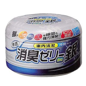CARMATE カーメイト 置き型消臭剤 D 16 消臭ゼリー ミニバン用 銀無香|newfrontier