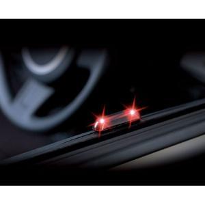 CARMATE カーメイト ダミーセキュリティ SQ 38 ナイトシグナル EZ レッド カーセキュリティ|newfrontier