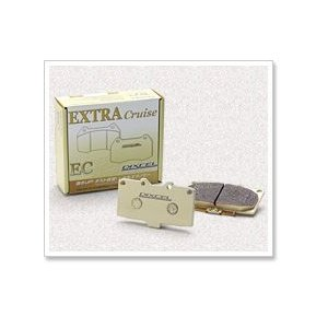 DIXCEL ディクセル ブレーキパッド エクストラクルーズ フロント EC341218 ミツビシ ランサーセディア 1800 00/03〜04/11 CS5A SE-G/SE-R/ツーリング|newfrontier
