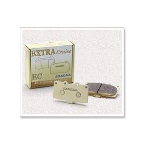 DIXCEL ディクセル ブレーキパッド エクストラクルーズ フロント EC341200 ダイハツ ムーヴ 660 06/10〜 L175S X/カスタムL/カスタムX|newfrontier