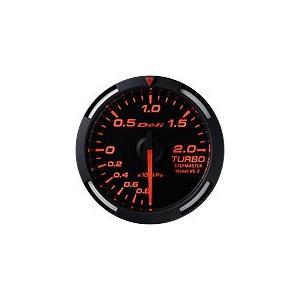 Defi デフィ Racer Gauge ターボ計 レッドレーサーゲージ DF06505|newfrontier