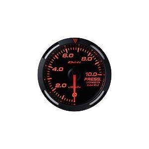 Defi デフィ Racer Gauge 圧力計 レッドレーサーゲージ DF06605|newfrontier