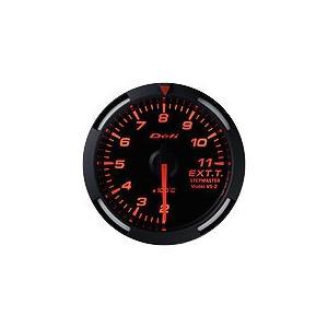 Defi デフィ Racer Gauge 排気温度計 レッドレーサーゲージ DF06805|newfrontier