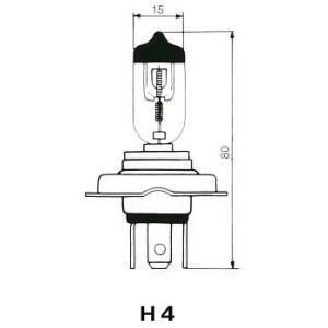 FOCUS 自動車用電球 ハロゲンバルブ 【H4】 【12V60/55W】 F40UT-B newfrontier