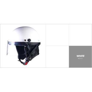 LEAD リード工業 HARVE HS-2 ハーフヘルメット ホワイト HS-2-wh|newfrontier