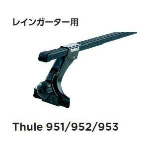 Thule スーリー キャリア ベースキャリア レインガータフットセット 15CM 951|newfrontier
