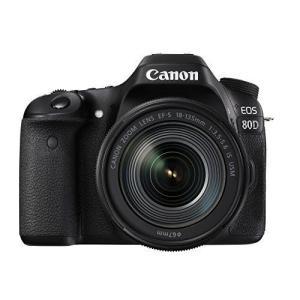 Canon デジタル一眼レフカメラ EOS 80D レンズキット EF-S18-135mm F3.5...