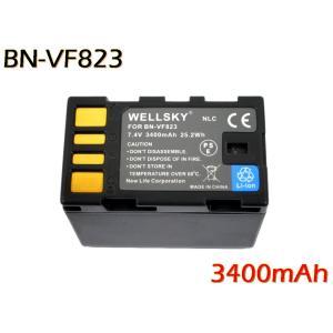【あすつく対応】●Jvc Victor ビクター● BN-VF823 互換バッテリー ●純正充電器で充電可能 残量表示可能 ●|newlifestyle