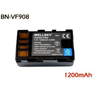【あすつく対応 】● Jvc Victor ビクター Everio エブリオ ● BN-VF908 / BN-VF808 互換バッテリー ●純正充電器で充電可能 残量表示可能 ●|newlifestyle