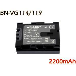 【あすつく対応】● Jvc Victor ビクター Everio エブリオ ● BN-VG114 / BN-VG119 互換バッテリー ●純正充電器で充電可能 残量表示可能 ●