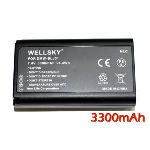 互換可能バッテリー : パナソニック Panasonic DMW-BLJ31 電圧 : 7.4V  ...