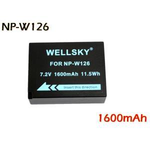 互換可能バッテリー: FUJIFILM: NP-W126 / NP-W126S 1個  電圧: 7....