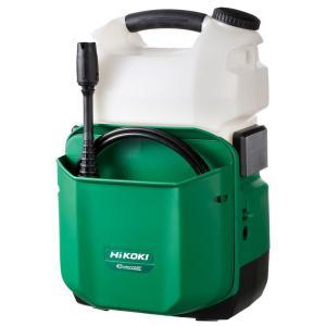 日立工機 コードレス高圧洗浄機 14.4V AW14DBL(NN) 本体のみ (電池・充電器別売)|newstagetools