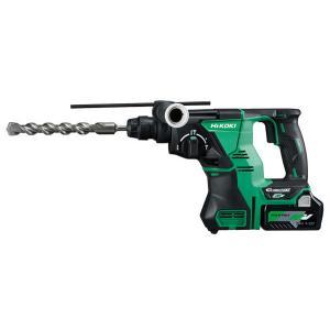 日立工機 DH36DPA(2XP) コードレスロータリハンマドリル 36Vバッテリx2個・充電器・ケース付|newstagetools