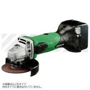 日立工機 コードレスディスクグラインダ 電池・充電器・ケース別売 G14DSL(NN)(L)グリーン 14.4V|newstagetools