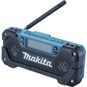 マキタ充電式ラジオ MR052 本体のみ(10.8Vスライドバッテリ仕様)|newstagetools