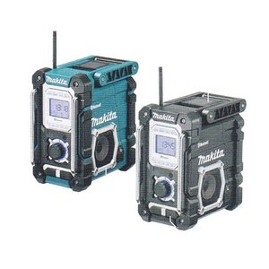 マキタ 充電式ラジオ MR108B (黒)Bluetooth対応(バッテリ・充電器別売) |newstagetools